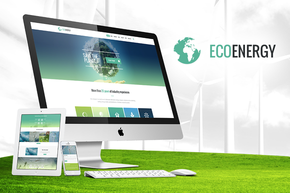 ECO Energy Ecology WordPress Theme