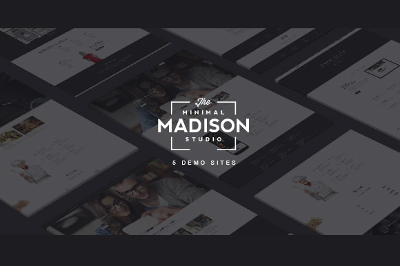 MADISON-Bootstrap MultiPurpose Demos