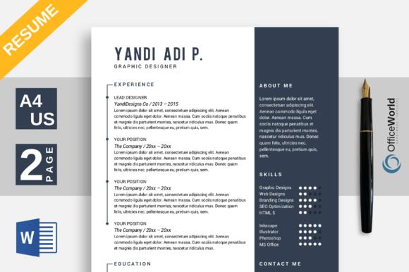 Resume Template For Wps Writer