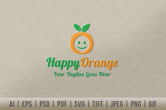 Happy Orange Logo