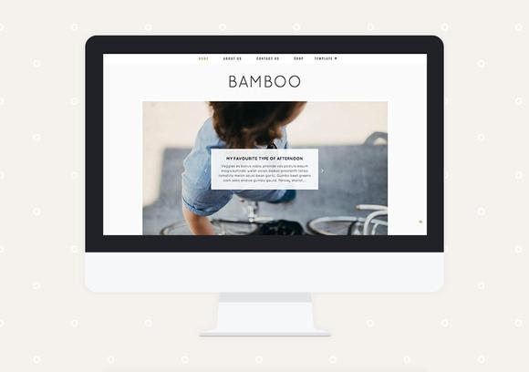 Bamboo Premade Blogger Template
