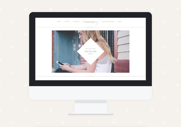 Rosemary Premade Wordpress Theme