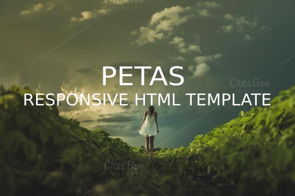 Petas Responsive HTML5 Template