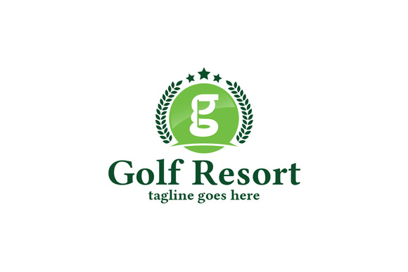 Golf Resort Logo