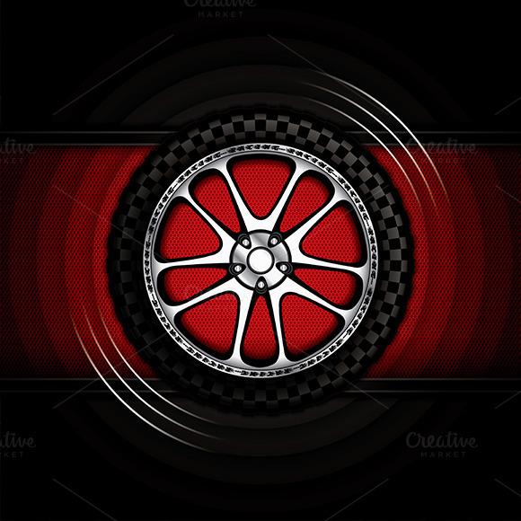 Racing Car Wheel