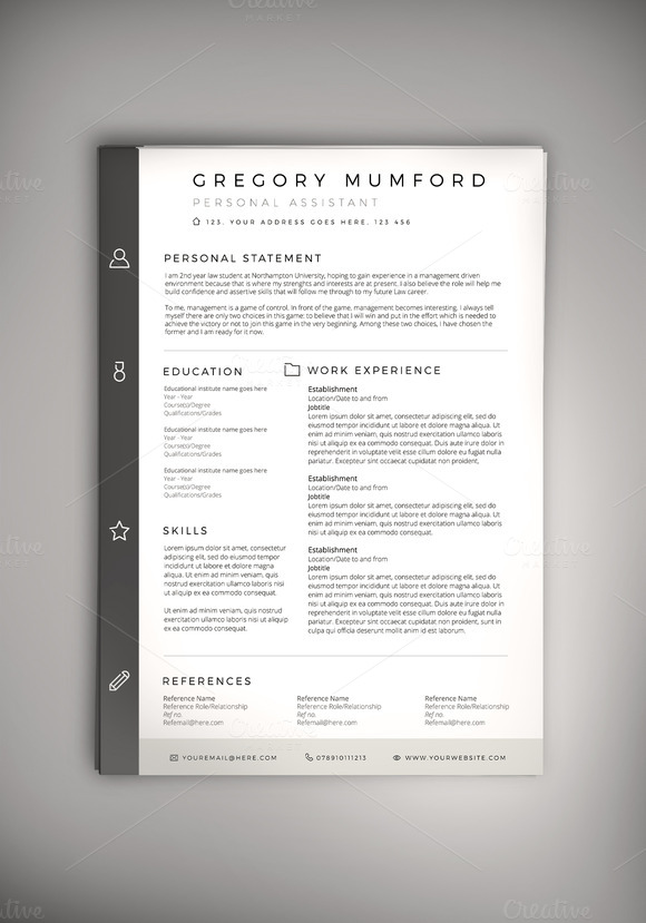 Classified CV Resume