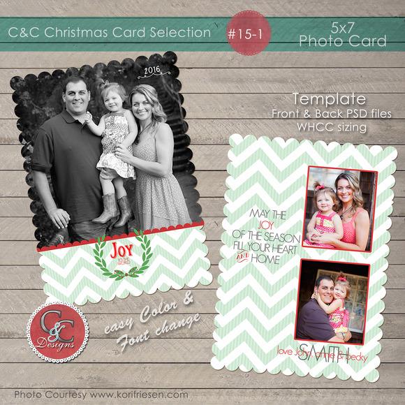 Christmas Photo Card Collection 15-1