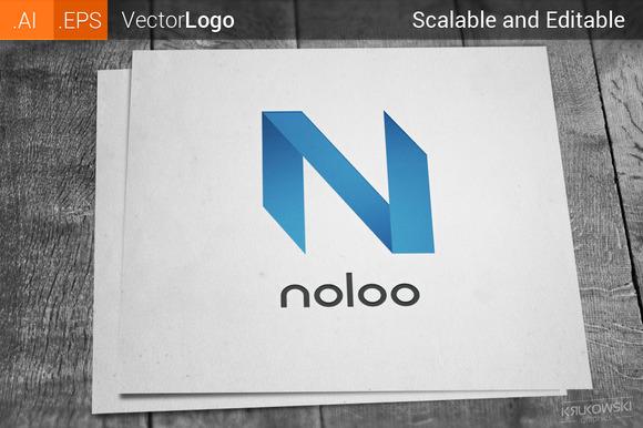 Letter N Company Logo