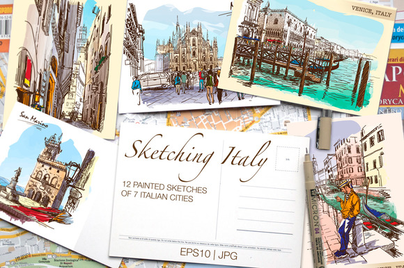 Sketching Italy