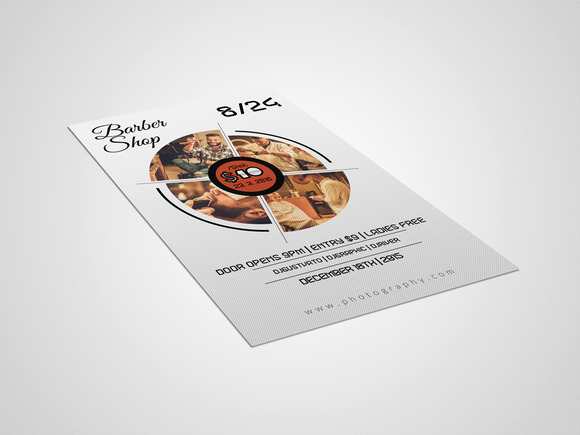Barber Shop Flyer Template