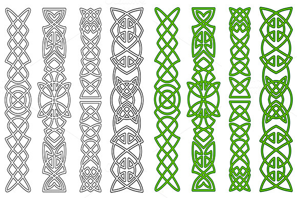 Celtic Ornaments And Elements