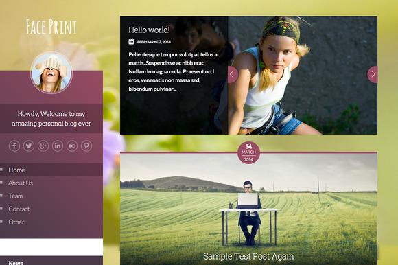 Faceprint HTML