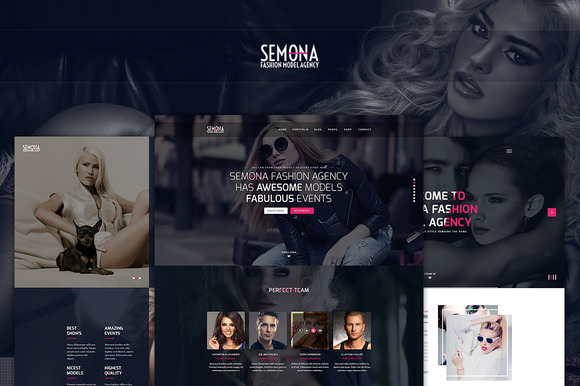 Fashion Semona An Art Template