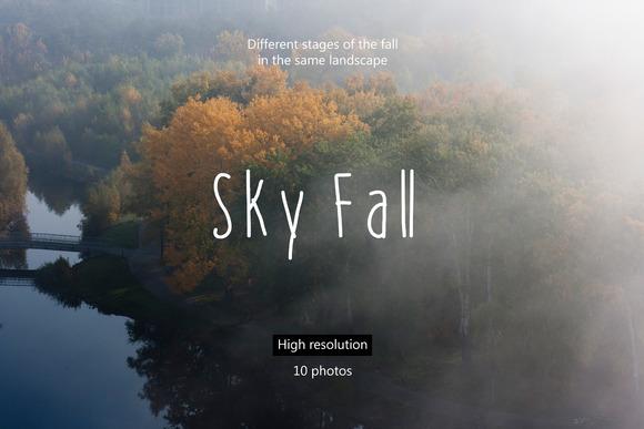 10 Sky Fall Photos