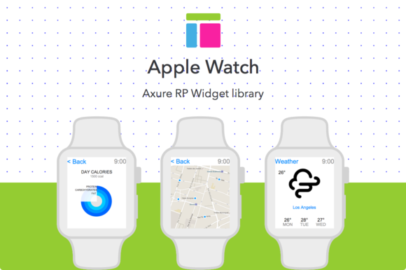 Axure Widget Library Apple Watch