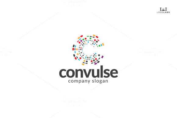 Convulse Letter C Logo