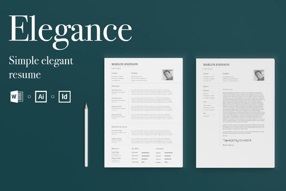 Elegance Simple Elegant Resume