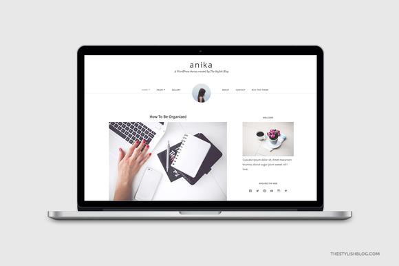 Anika Responsive WordPress Theme
