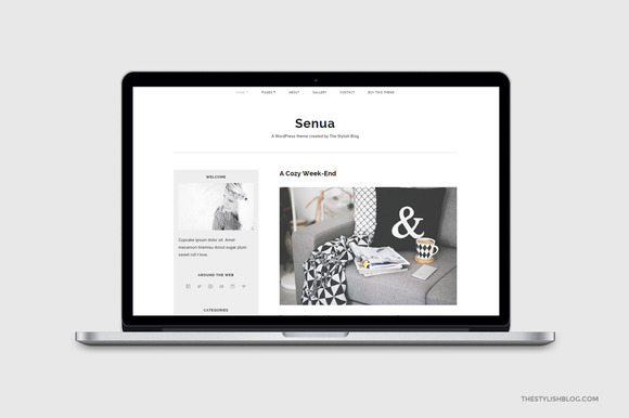 Senua Responsive WordPress Theme
