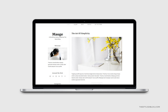 Mauge Responsive WordPress Theme