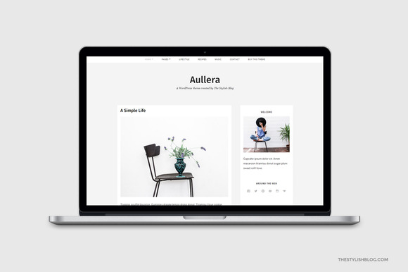 Aullera Responsive WordPress Theme
