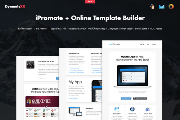 IPromote Online Template Builder