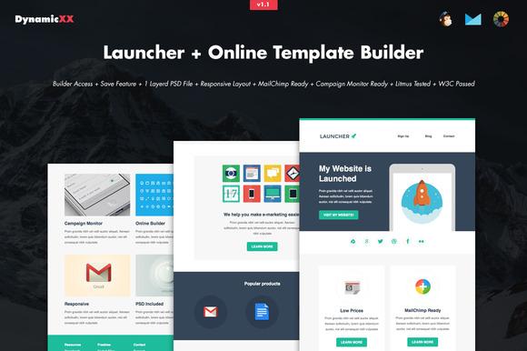 Launcher Online Template Builder