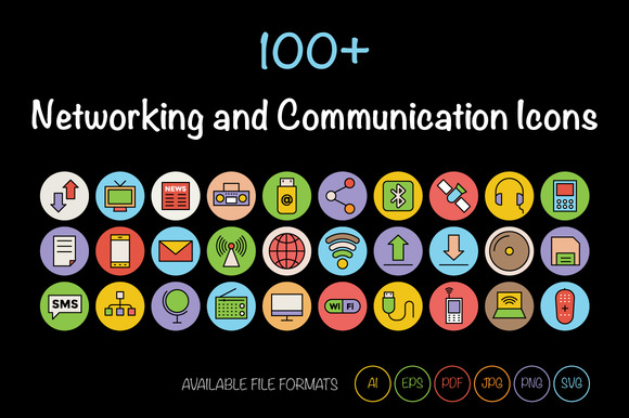 100 Networking Communication Icon