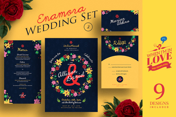 Enamora Wedding Set 2