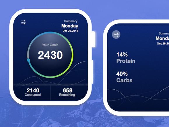 Calories Calculator UI