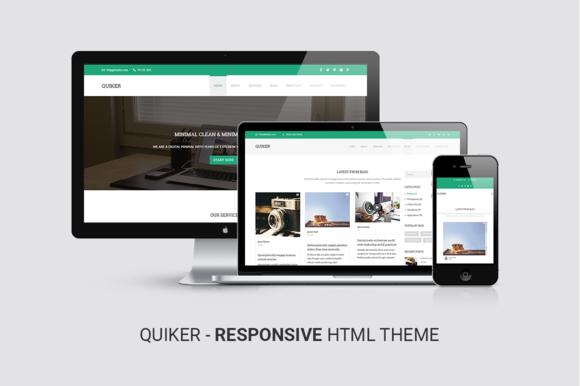 Quiker Responsive HTML5 Template