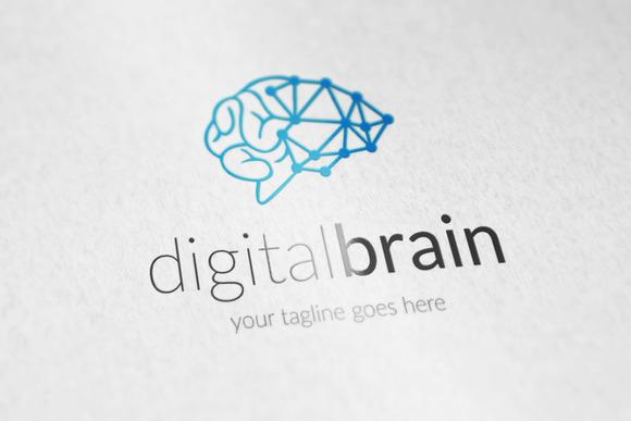 Digital Brain V2 Logo