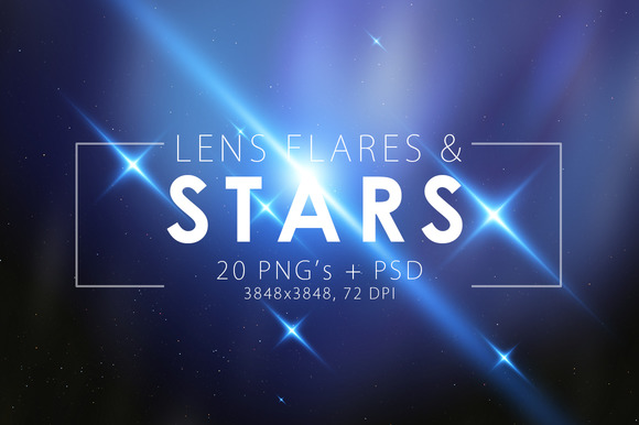 Stars Flare Pack
