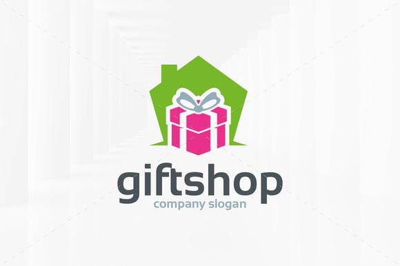 Gift shop logo design