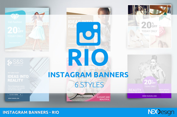 Instagram Banners RIO