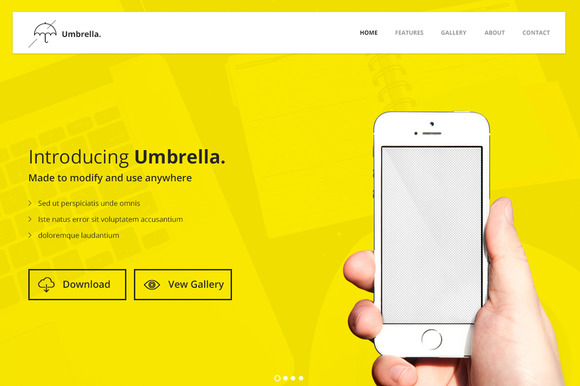 Umbrella Bootstrap Theme