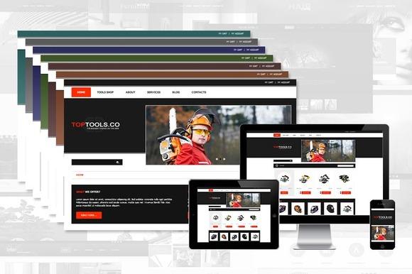 TopTools ECommerce Joomla Template