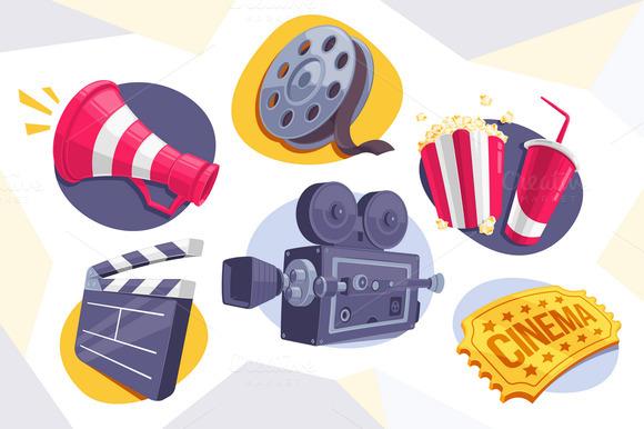 6 Movie Icons