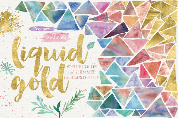 Liquid Gold For Illustrator