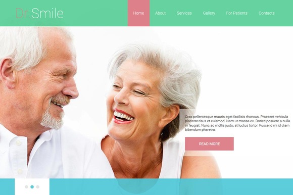 Dr.Smile Joomla 3 Theme