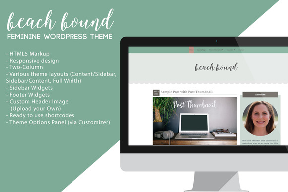 Beach Bound Wordpress Theme