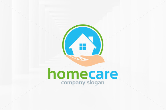 Care home logo design designtube creative design content - Home health care logo design ...