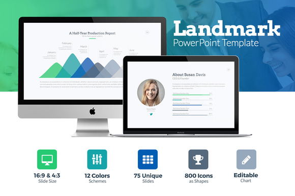 Landmark PowerPoint Template