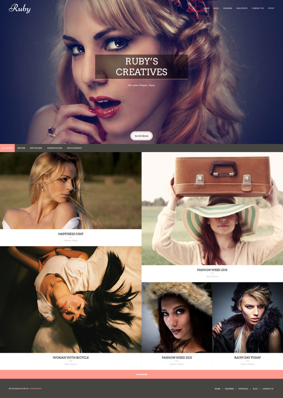 RUBY Creative HTML5 Template