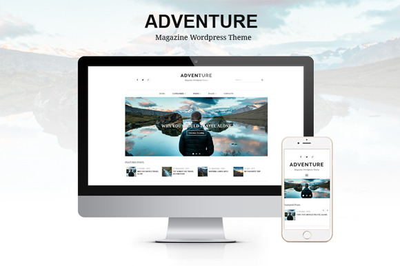 Adventure Magazine Wordpress Theme