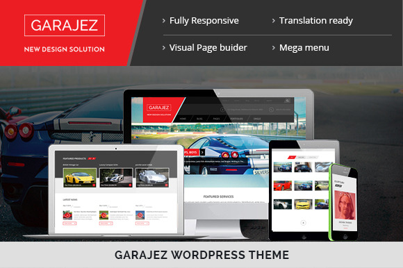 GARAJEZ WordPress Theme
