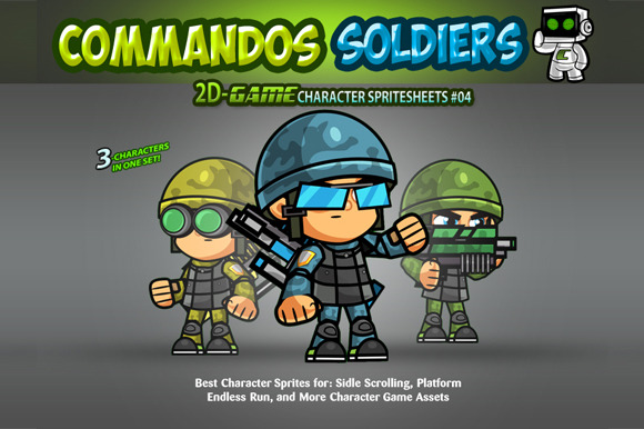 Soldiers Character Sprites 04