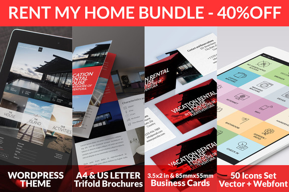 Rent My Home Bundle 40%OFF