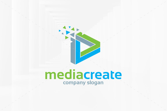Media Create Logo Template