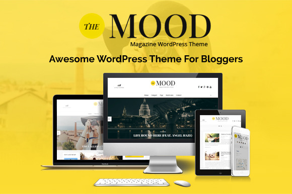 Mood Magazine WordPress Theme